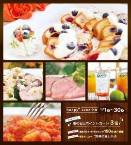 トマトの木 Happy June企画